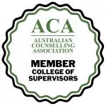 Australian Counselling Association - Member - College of Supervisors - 2021-04-21